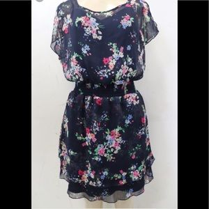 Express Small Floral Dress